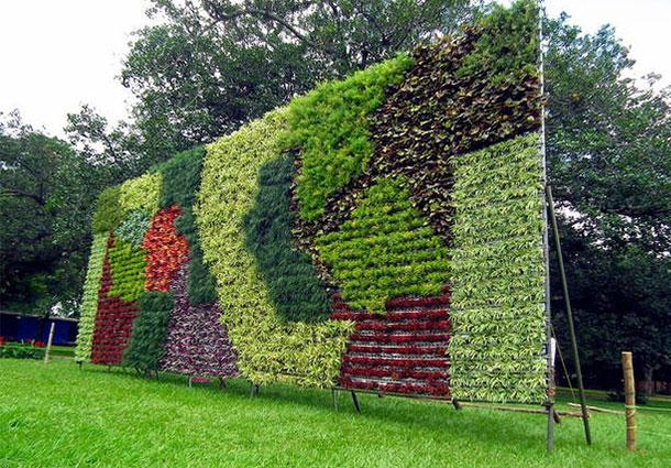 Floralia giardini verticali for Tipos de muros verdes